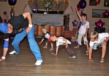 для детей брейк танец